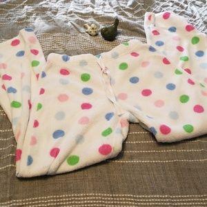 No boundaries polka dot sleep pants